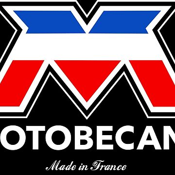 Motobecane Cycles Made in France WHT by JackCinq