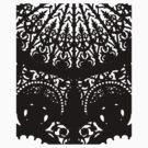 Decorative Black Print by Orla Cahill