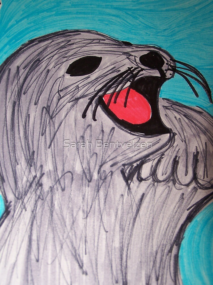 Save The Cute Seals by Sarah Bentvelzen