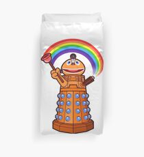 Zippy Dalek Duvet Cover