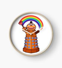 Zippy Dalek Clock