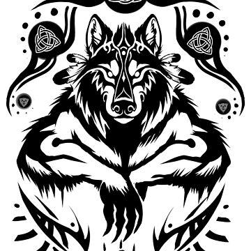 Shamanic Werewolf by Xeanatavara