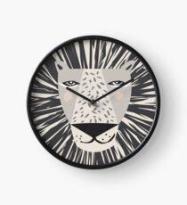 Friendly Lion Clock