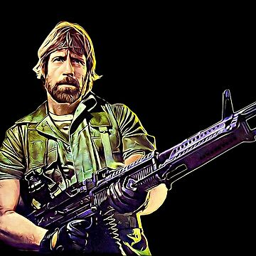 Chuck Norris Soldier by biggeek