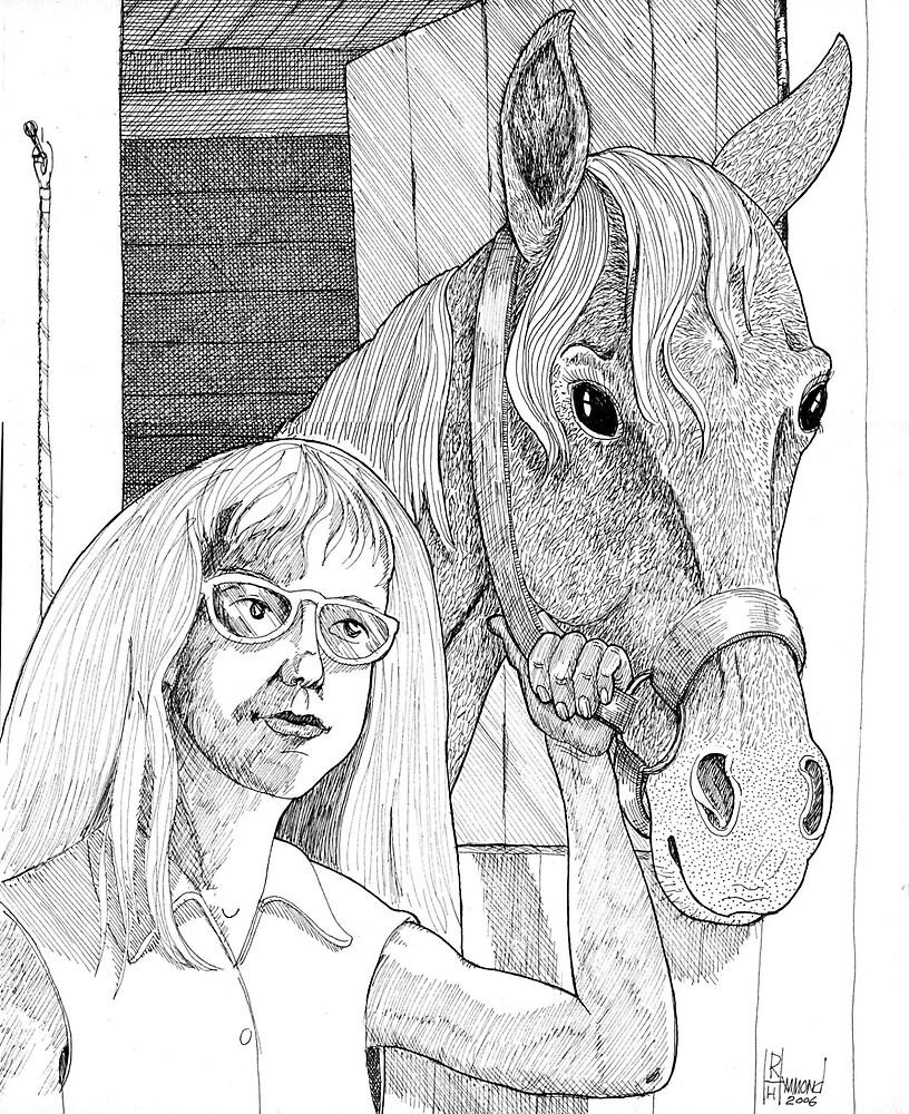 Debbie & Red by BobHenry