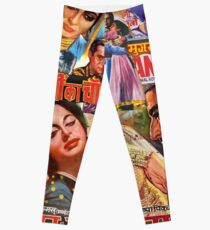 Vintage Bollywood Pattern 2 Leggings