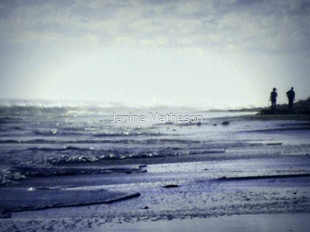 beach trails by Janine Matheson