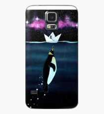 """""""Emperor Penguin"""" - from the heron of my paper boats Case/Skin for Samsung Galaxy"""