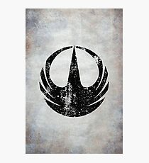 Rogue One Squad Logo · Distressed Photographic Print