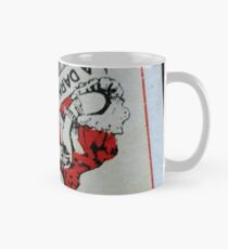 The Playing Cards - Queen of Clubs - A Dark Woman Mug