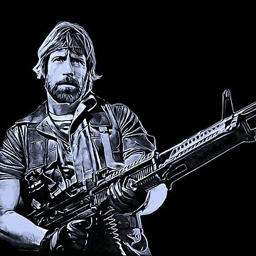 Chuck Norris Soldier Art by biggeek