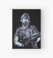 Chuck Norris Soldier Art Hardcover Journal