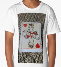 The Playing Cards - Queen of Hearts - A Fair Woman Long T-Shirt