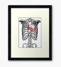 Love Split Framed Print