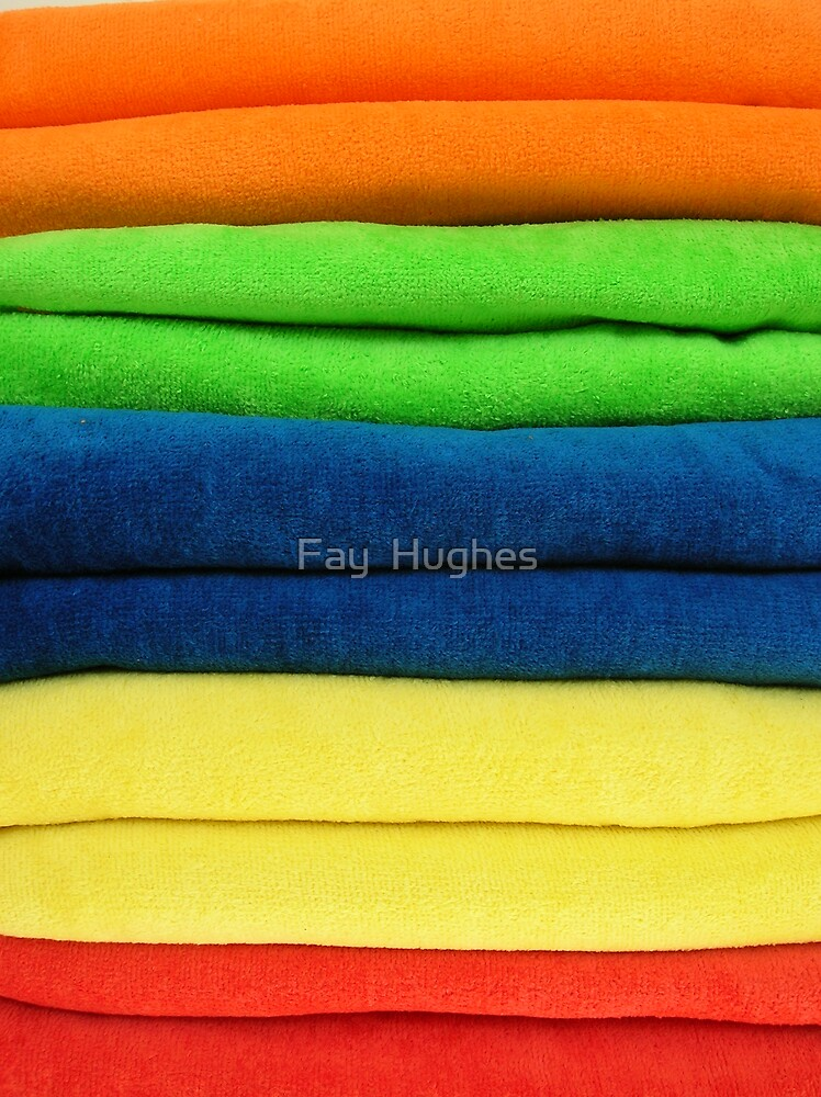 B is for Beach towels by Fay  Hughes