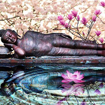 Sleeping Buddha  by ImageMonkey