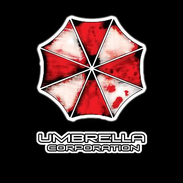 Nemesis edition Umbrella Corporation iPhone case, T-Shirt, and apparel   by Kgphotographics