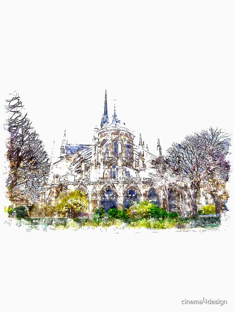 Notre-Dame de Paris by cinema4design