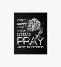 Rosary pray Art Board