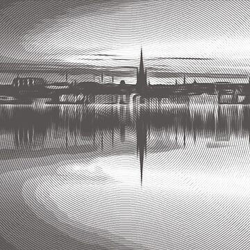 Mirror reflection of Stockholm  007 14 0718 by algirdasdesign