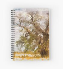 lonely bottle tree Spiral Notebook