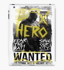 BATMAN HERO WANTED iPad Case/Skin