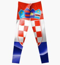 Croatia Flag Leggings