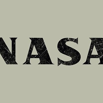USA Space Agency V05 Vintage Black by Lidra
