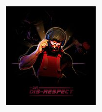 Play Enjoy With Dr Disrespect Photographic Print