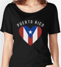 Puerto Rico Women's Relaxed Fit T-Shirt