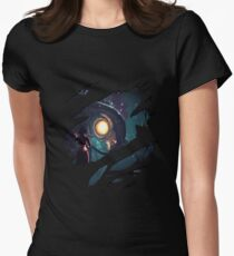 Elizabeth - Songbird Women's Fitted T-Shirt