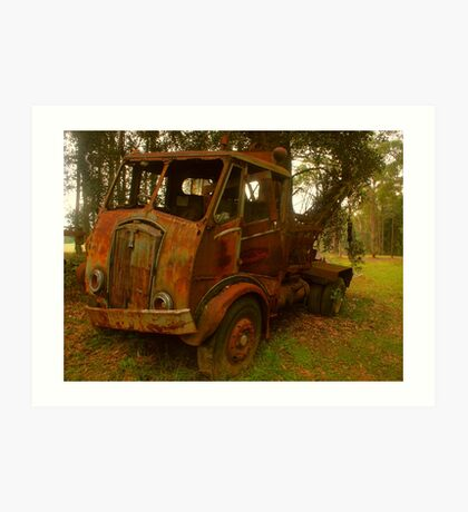 Rusty Trusty Art Print