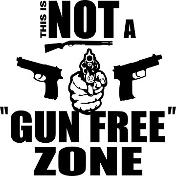 Not a Gun Free Zone by MToddArt