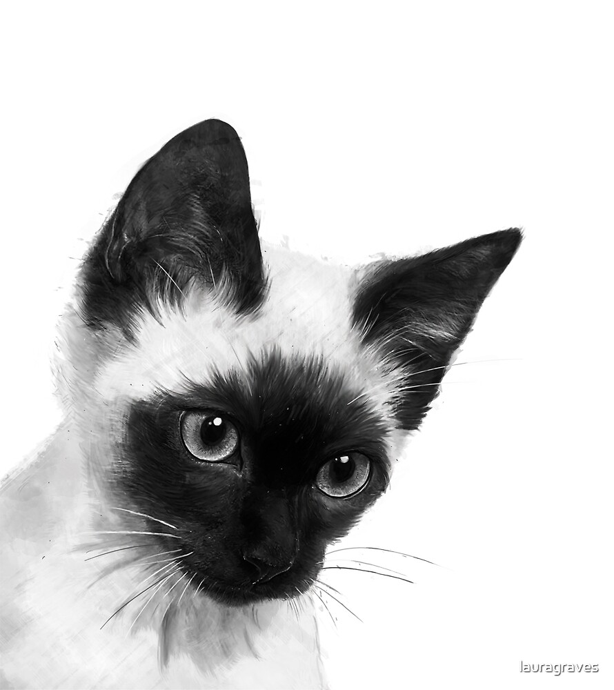 Siamese  by lauragraves