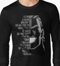 My Hero, All Might Long Sleeve T-Shirt