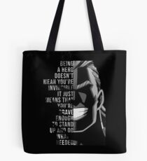 My Hero, All Might Tote Bag