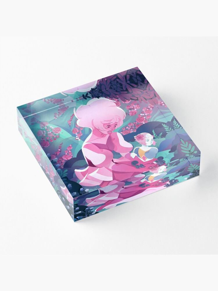 Alternate view of My World Acrylic Block