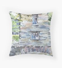 Bridge House, Ambleside. Throw Pillow