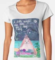 Oceanside Magical Tipi Women's Premium T-Shirt