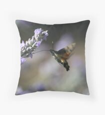 Nectar Collector Throw Pillow