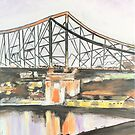 Story Bridge Brisbane by gillsart