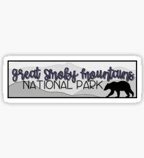 Pegatina Great Smoky Mountains