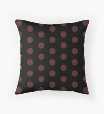 Plaid polka dots Throw Pillow