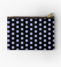 Gingham Polka Dots Studio Pouch