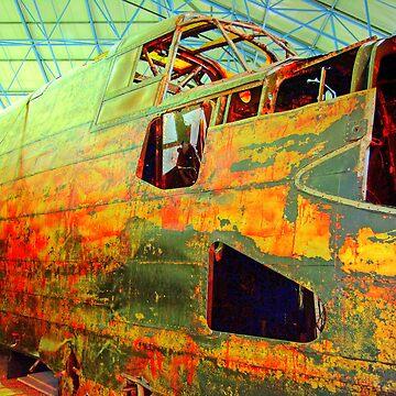 Halifax W1048 TL-S Wreck - HDR by Arrowman