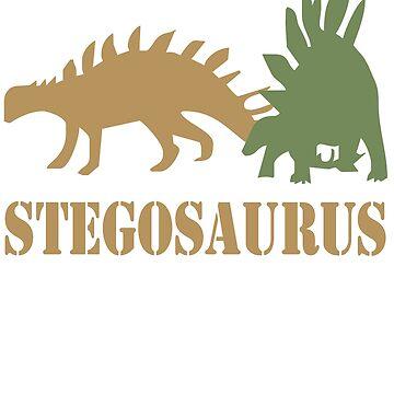 Stegosaurus by Pferdefreundin