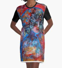 Summer Graphic T-Shirt Dress