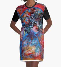 Summer Graphic T-Shirt Dress