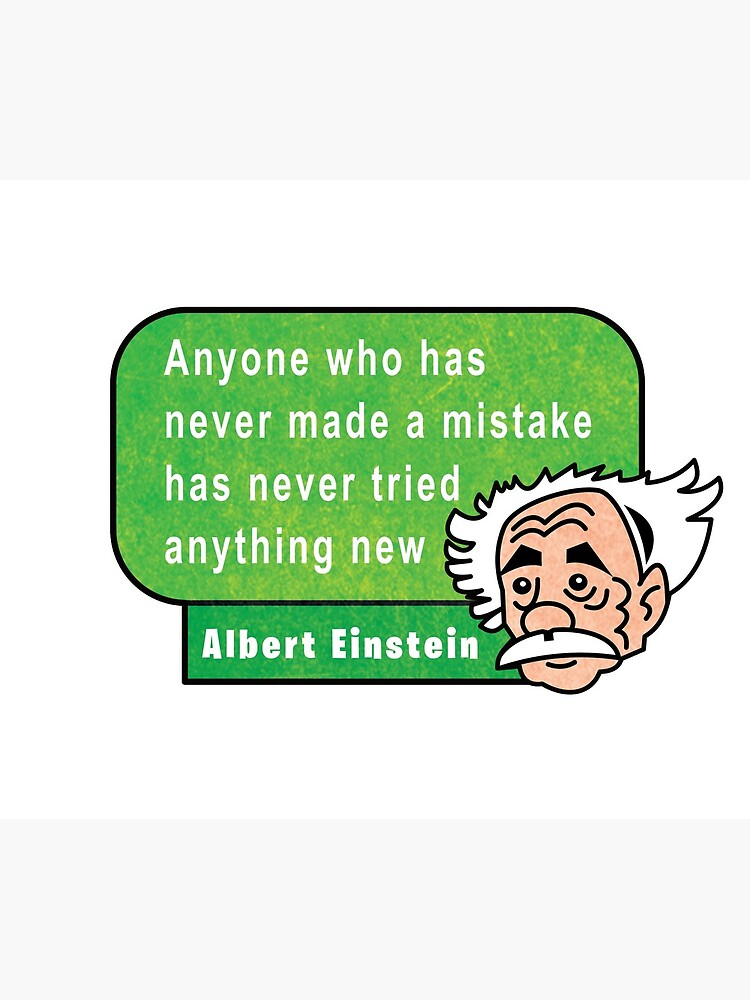 Einstein Motivation Inspiration Quote de Maljonic