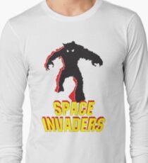 Envahisseurs de l'espace T-shirt manches longues